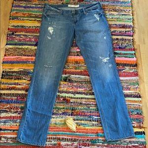 Hollister ripped Laguna skinny jeans
